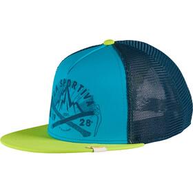 La Sportiva Hipster Nakrycie głowy Mężczyźni, apple green/tropic blue